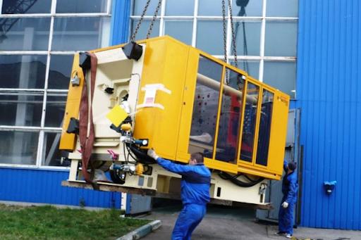 Транспортировка полиграфического оборудования