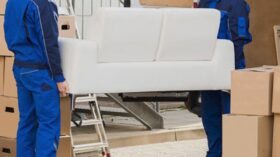 Перевозка мебели в Колпино