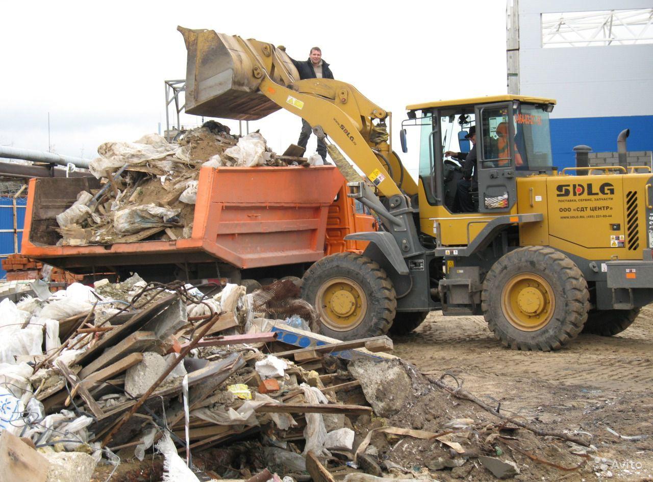 Вывоз мусора самосвалом с грузчиками