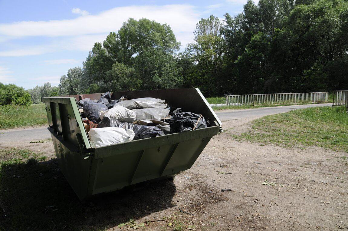 Вывезти мусора с дачного участка
