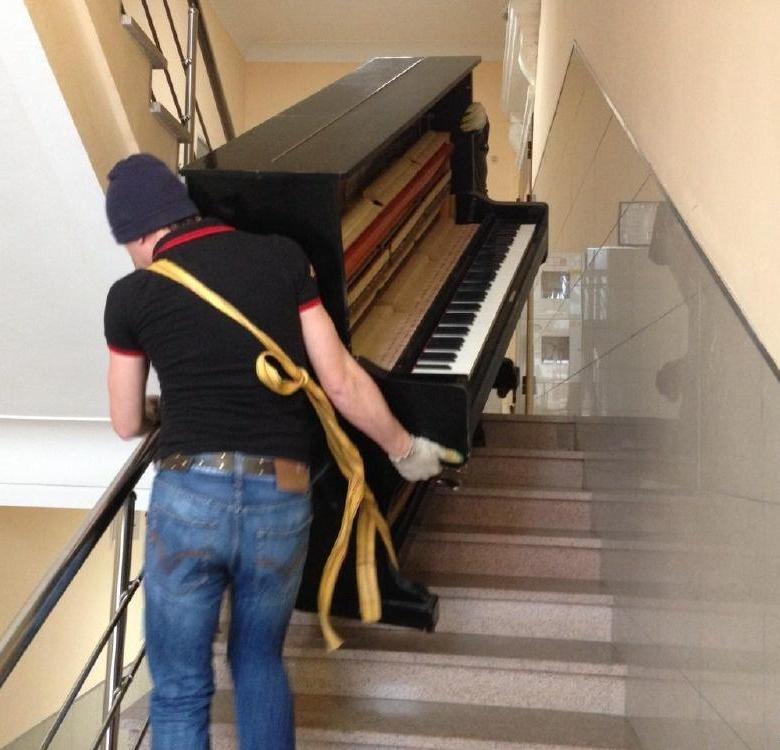 Вынести пианино с грузчиками